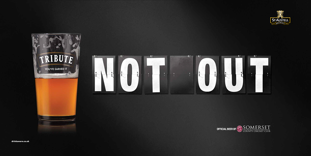 Not Out 48sheet creative