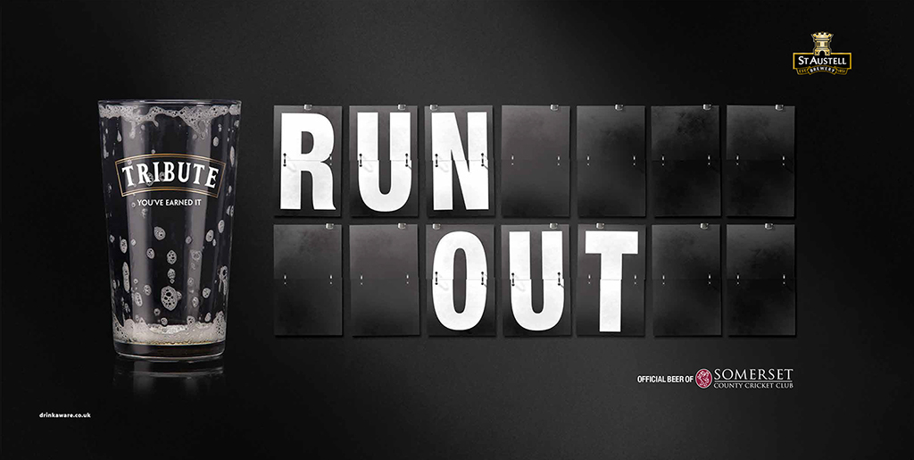 Run Out 48sheet creative