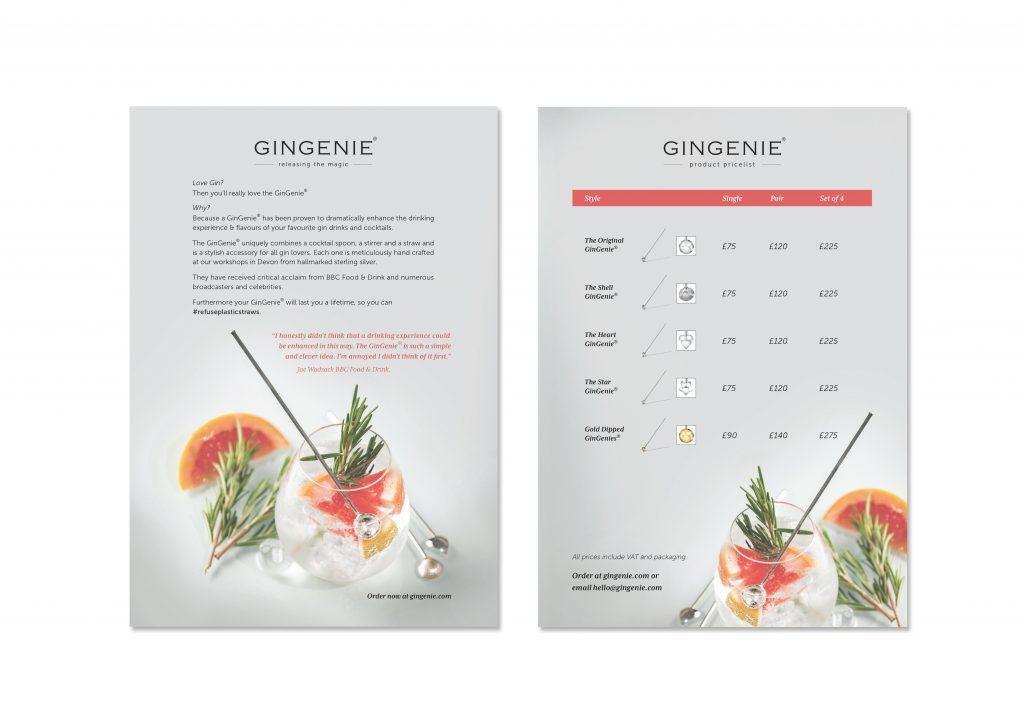GinGenie Leaflet