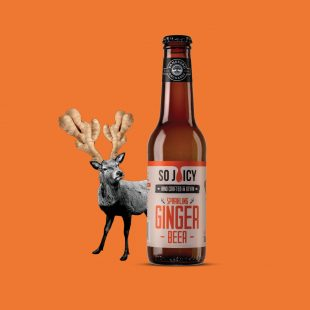 Stag Ginger Bottle